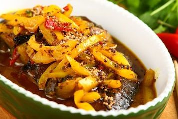 Curry z bakłażana