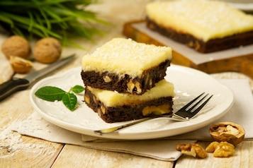 Czekoladowe brownie z kokosem