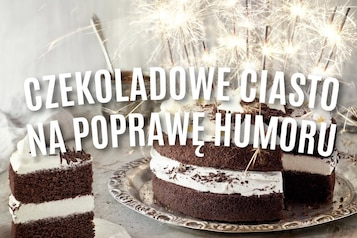 Czekoladowe ciasto na poprawę humoru - VIDEO