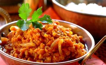 Czerwone curry z soczewicy