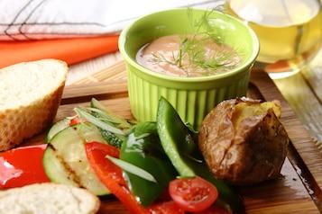 Dip do grillowanych warzyw