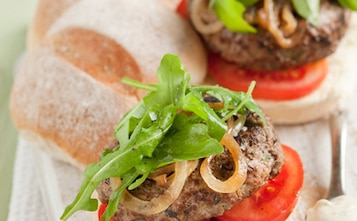 Domowe mini burgery