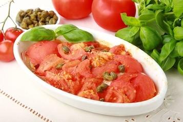 Dorsz w sosie pomidorowym