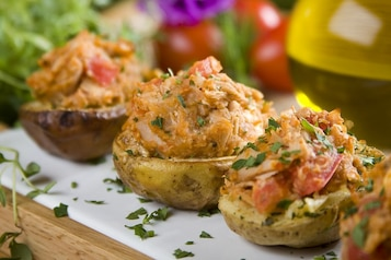 Faszerowane ziemniaki