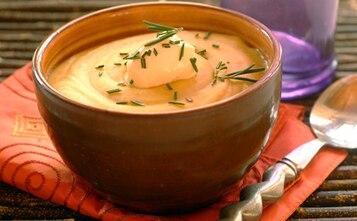 Gęsta zupa krem z soczewicą
