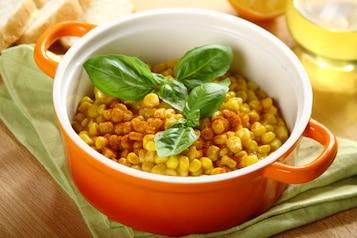 Gotowana kukurydza w kremowo maślanym sosie