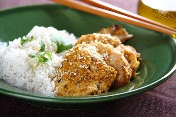 Grillowany kurczak w sezamie