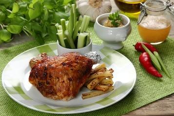 Udka kurczaka miodowo-musztardowe