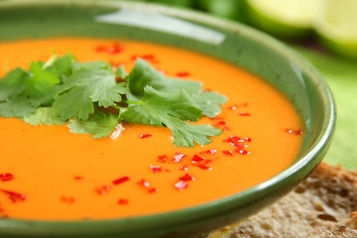 Indyjska zupa pomidorowa