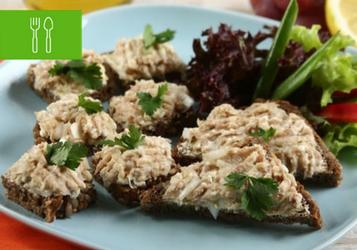 8 przepisów na kanapki z rybą