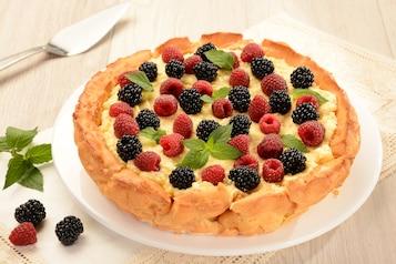 Karpatka z owocami