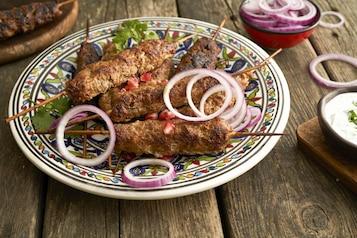 Kofta kebab z jagnięciny