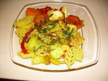 Kolorowa sałatka zamiast obiadu