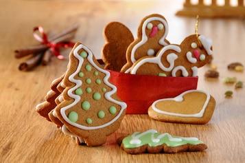 Korzenne ciasteczka na choinkę (pierniczki)