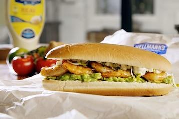 Pan Burger krewetkowy