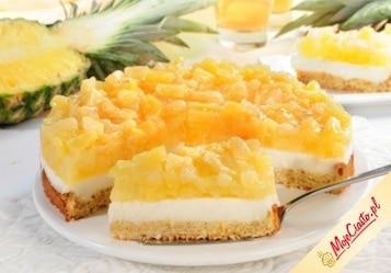 Kruchy ananasowiec