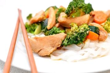 Kurczak teriyaki z warzywami