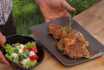 Kurczak w marynacie pikantnej (francuskiej) - VIDEO