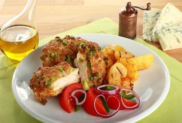 "Kurczak z serową ""panierką"""