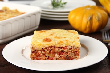 Lasagne z dynią