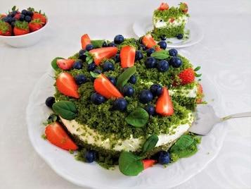 Zielone ciasto, czyli barwny i pyszny wypiek