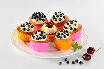Letnie cupcakes