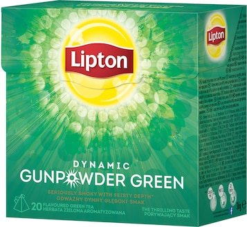 Herbata Zielona Lipton Dynamic Green Gunpowder