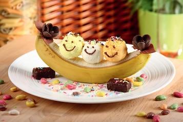 "Lody z bananami ""Kanu"""