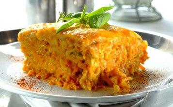 Marchewkowa lasagne