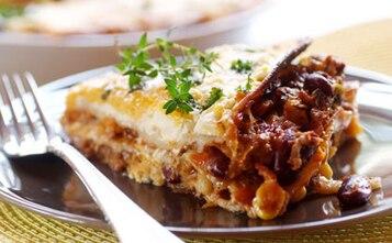 Meksykańska lasagne