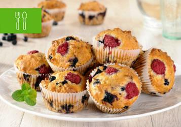 13 mocno owocowych muffinów