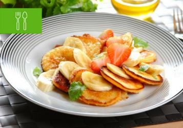 Słodkie placuszki - na śniadanie, do lunchboxa, na podwieczorek
