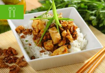 Kurczak z ryżem - prosty sposób na obiad