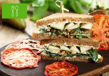 Top 8 wegetariańskich kanapek na drugie śniadanie