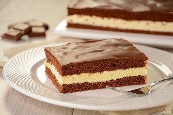Ciasto mleczna kanapka (Milky Way)