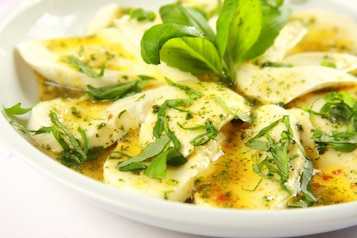 Mozzarella z oliwą z oliwek