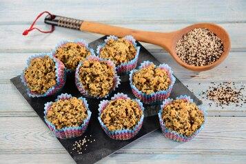 Bezglutenowe muffinki ryżowe