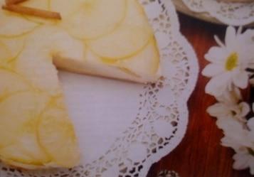 Mus tortowy z jabłek
