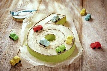 Cyferkowe ciasto