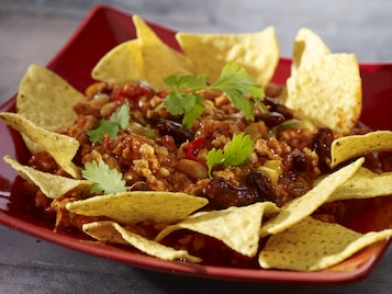 Ostre chili z czipsami tacos