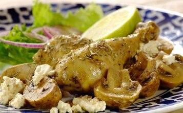 Pałki z kurczaka z cytrynowym aromatem