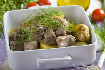 Pieczona karkówka z ziemniakami