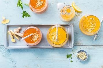 Pikantne marchewkowe smoothie