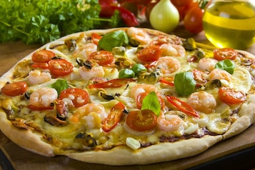 Pizza frutti di mare