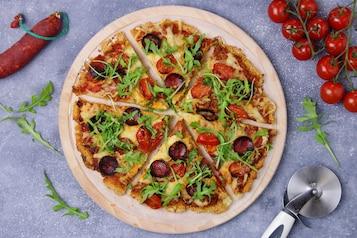 Pizza na spodzie z kaszotta - VIDEO