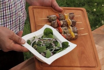 Polędwica wołowa w marynacie czosnkowo-ziołowej (francuskiej) - VIDEO