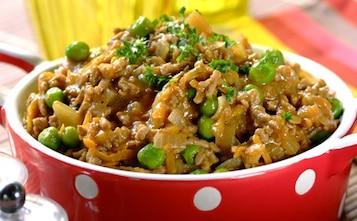 Potrawka z ryżem i wieprzowiną