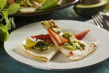 Quesadillas z guacamole