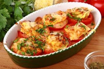 Ravioli w pomidorach