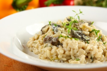 Risotto z grzybami - VIDEO